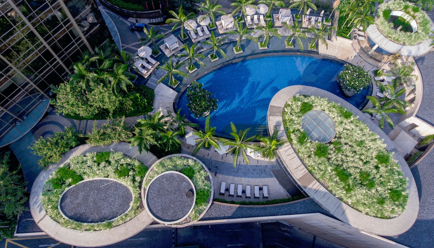 New Resort Being Built with Modern Technology